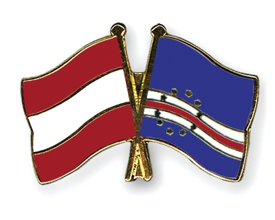 Crossed-Flag-Pins Austria-Cape-Verde