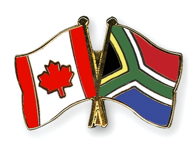 Crossed-Flag-Pins Canada-South-Africa