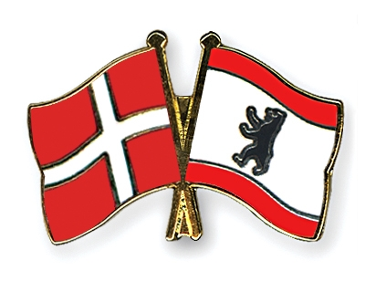 Pins Pin Badge Pin/'s Metal with Clip Butterfly Flag Denmark Danish