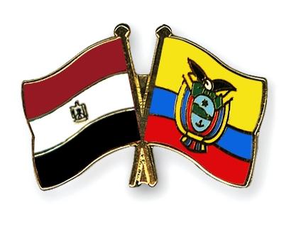 Crossed Flag Pins EgyptEcuador Flags - Ecuador flags