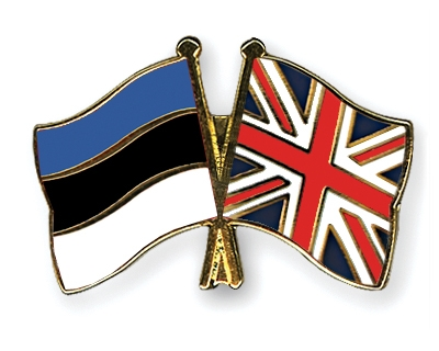 Image result for estonia and united kingdom flags