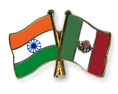 mexico flag. Crossed-Flag-Pins India Mexico