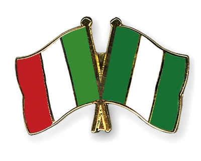 italy flag. Crossed-Flag-Pins Italy