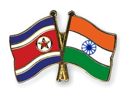 the north korean flag. Crossed-Flag-Pins North-Korea
