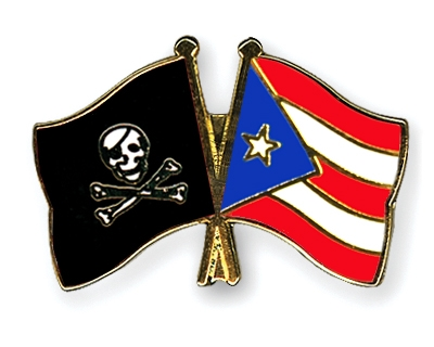 Image result for puerto rican pirate flag
