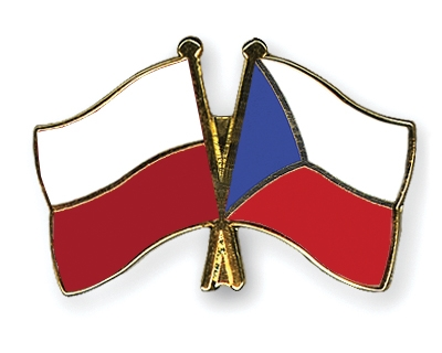 Friendship Pins with the flags of Poland and Czech-Republic courtesy of www.crossed-flag-pins.com