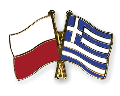 Crossed-Flag-Pins Poland Greece