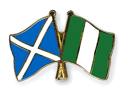 Crossed-Flag-Pins Scotland-Nigeria