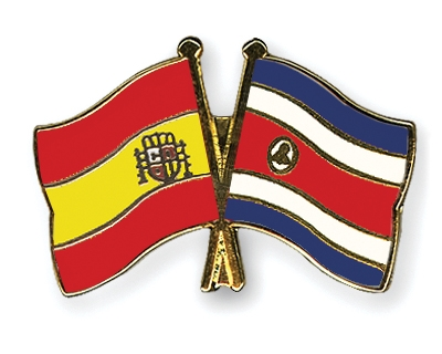 Crossed-Flag-Pins Spain Costa-