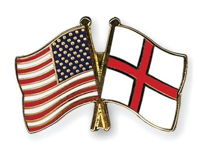 Image result for flag england usa