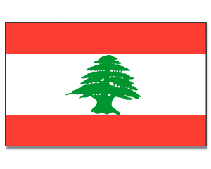 Flag Lebanon static