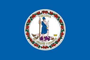 Flag and seal of Virginia  Wikipedia