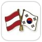 crossed-flag-pins-special-offer-Austria-South-Korea
