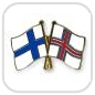crossed-flag-pins-special-offer-Finland-Faeroe-Islands