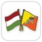 crossed-flag-pins-special-offer-Hungary-Bhutan