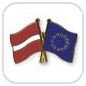 crossed-flag-pins-special-offer-Latvia-European-Union