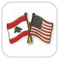 crossed-flag-pins-special-offer-Lebanon-USA