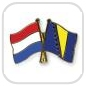 crossed-flag-pins-special-offer-Netherlands-Bosnia-and-Herzegovina