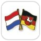 crossed-flag-pins-special-offer-Netherlands-Lower-Saxony