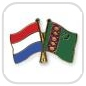 crossed-flag-pins-special-offer-Netherlands-Turkmenistan