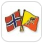 crossed-flag-pins-special-offer-Norway-Bhutan