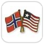 crossed-flag-pins-special-offer-Norway-Liberia