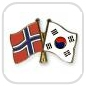 crossed-flag-pins-special-offer-Norway-South-Korea