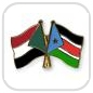 crossed-flag-pins-special-offer-Sudan-South-Sudan