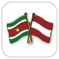 crossed-flag-pins-special-offer-Suriname-Austria