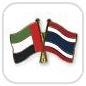 crossed-flag-pins-special-offer-United-Arab-Emirates-Thailand
