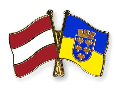 Special Offer Crossed Flag Pins Austria-Lower-Austria