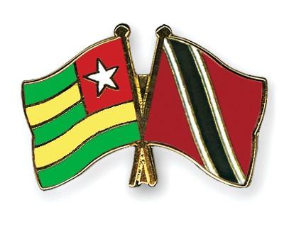 Crossed Flag Pins Togo-Trinidad-and-Tobago