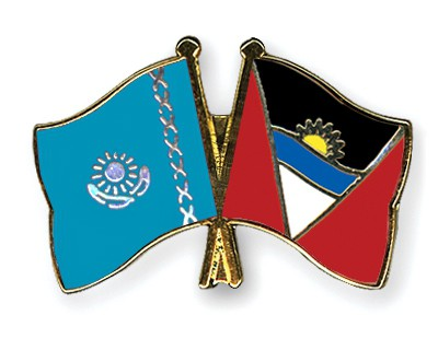 Crossed Flag Pins Kazakhstan-Antigua-and-Barbuda