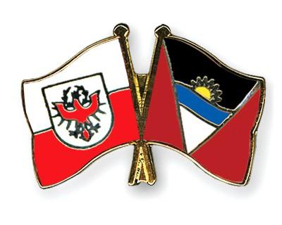 Crossed Flag Pins Tyrol-Antigua-and-Barbuda