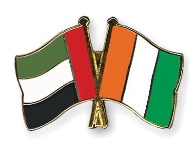 Crossed Flag Pins United-Arab-Emirates-Cote-d-Ivoire