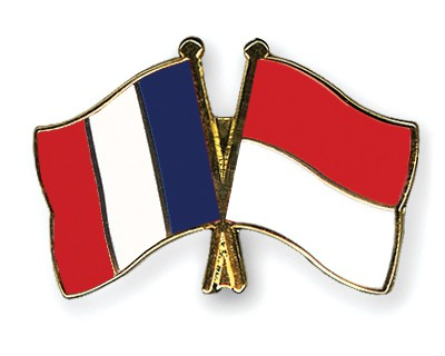 Special Offer Crossed Flag Pins France-Monaco