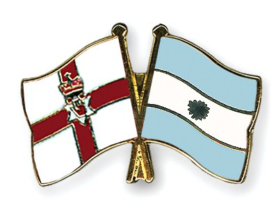 Crossed Flag Pins Northern-Ireland-Argentina