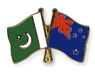 Crossed Flag Pins Pakistan-New-Zealand