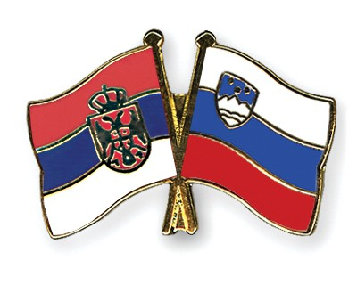 Crossed Flag Pins Serbia-without-Crest-Slovenia