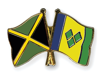 Pins Jamaica-Saint Vincent and the Grenadines
