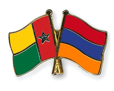 Crossed Flag Pins Guinea-Bissau-Armenia