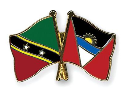 Crossed Flag Pins Saint-Kitts-and-Nevis-Antigua-and-Barbuda