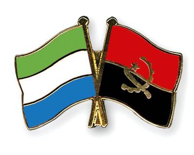 Crossed Flag Pins Sierra-Leone-Angola