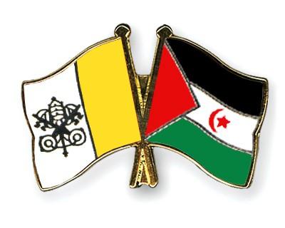 Crossed Flag Pins Vatican-City-Western-Sahara