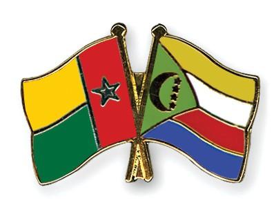 Crossed Flag Pins Guinea-Bissau-Comoros