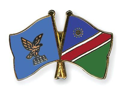 Crossed Flag Pins Friuli-Venezia-Giulia-Namibia