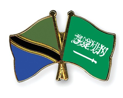 Special Offer Crossed Flag Pins Tanzania-Saudi-Arabia