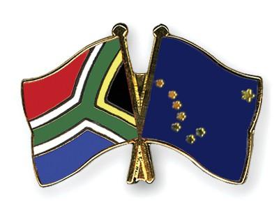 Crossed Flag Pins South-Africa-Alaska