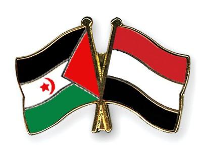Crossed Flag Pins Western-Sahara-Yemen