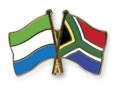 Crossed Flag Pins Sierra-Leone-South-Africa